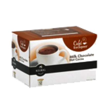 Free Box of Cafe Escapes Milk Chocolate Hot Cocoa K-Cups