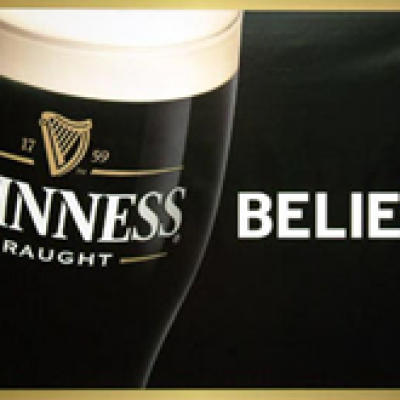Be a Guinness Believer-Pint of Guinness Free-Select Event Locations