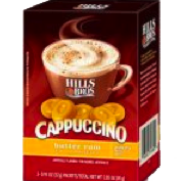 Free Sample Hills Bros Cappuccino