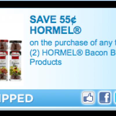 Hormel Bacon Bits Coupon