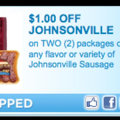 Johnsonville Sausage Coupon