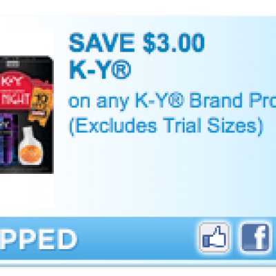Free K-Y jelly at Walmart
