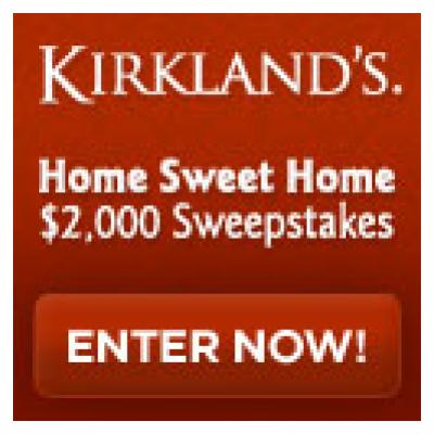 Kirkland's Home Sweet Home Sweepstakes