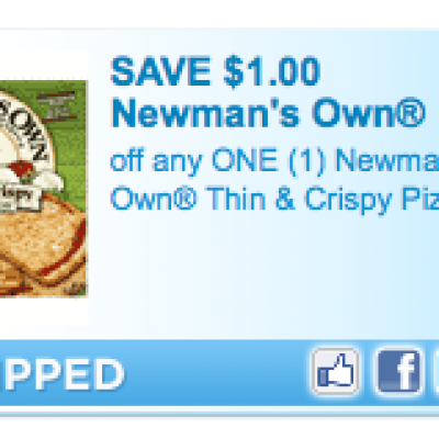 Newmans Own T&C Pizza Coupon