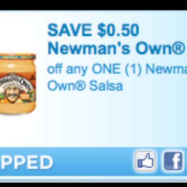 Newmans Own Salsa Coupon