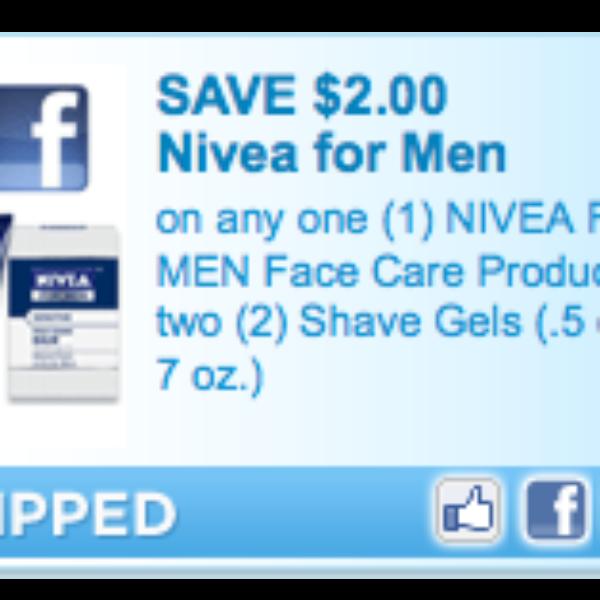 Nivea for Men Coupon