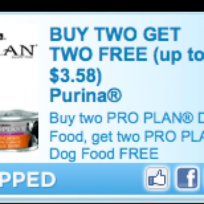 Purina Cat/Dog Food Coupon