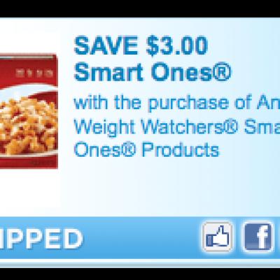 Weight Watchers Smart Ones Coupon