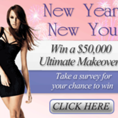 New Year! New You! Win a $50,000 Ultimate Makeover