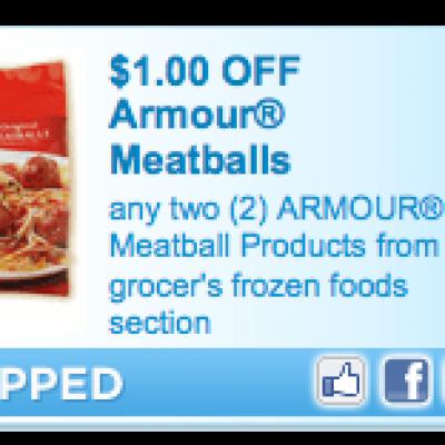 Armour Meatball Coupon