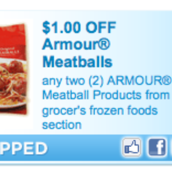 Armour Meatball Coupon