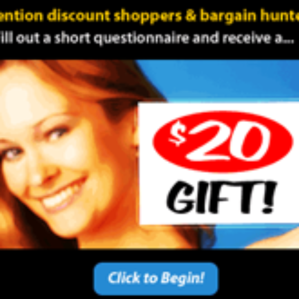Consumer Expressions/$20 Gift Card