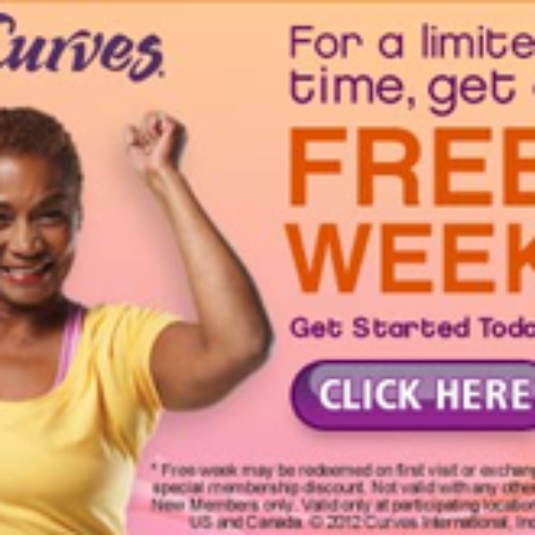 Curves One Week Free Pass