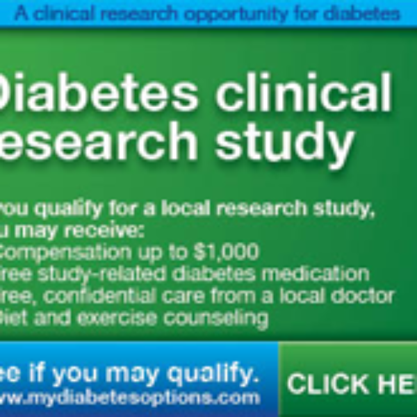 Diabetes Clinical Research Study
