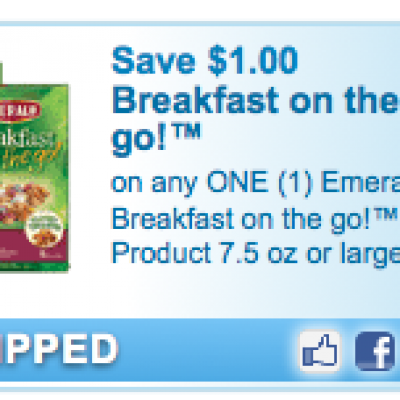 Emerald Breakfast on the go Coupon