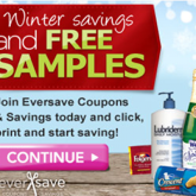 Winter Savings & Free Samples with Eversave