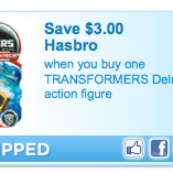 Transformer Action Figure Coupon