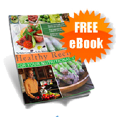"Free ""Healthy Recipes For Nutritional Type"" EBook"