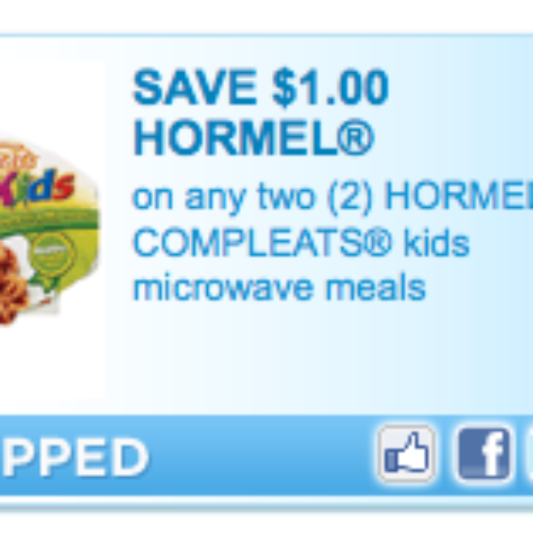 Hormel Compleats Coupon