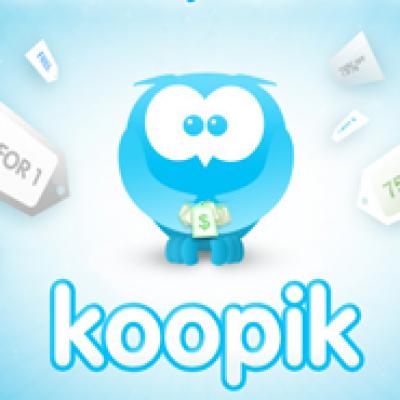 Get Daily Deals with Koopik
