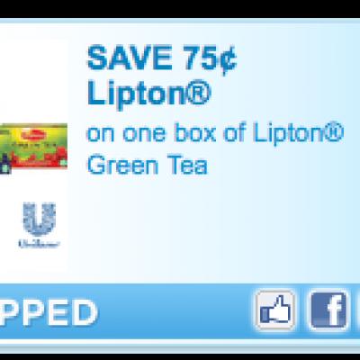 Lipton Green Tea Coupon
