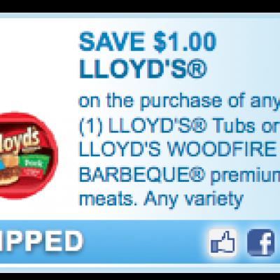 Lloyd's Tubs Or BBQ Coupon