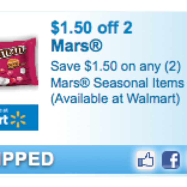 Mars Valentine's Day Candy Coupon