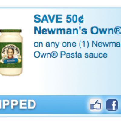 Newmans Own Pasta Coupon