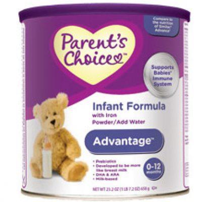 Infant Formula Parent's Choice Free Sample
