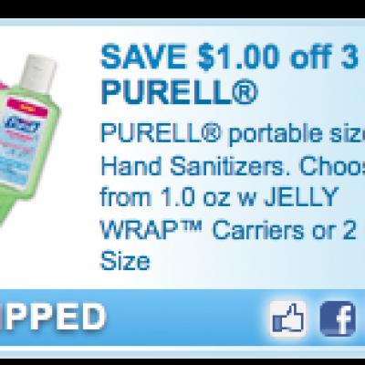 Purell Hand Sanitizer Coupon