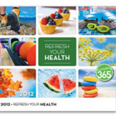 Free 2012 My Health Calendar