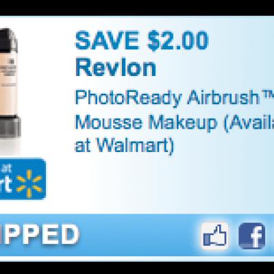 Revlon Airbush Mousse Makeup Coupon