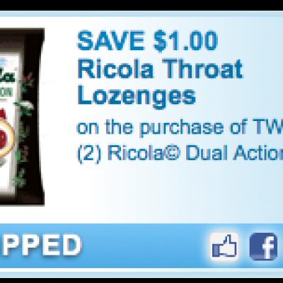 Ricola Throat Lozenges
