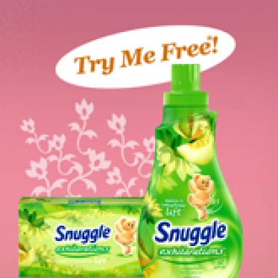 Free Sample Snuggles Fabric Softner