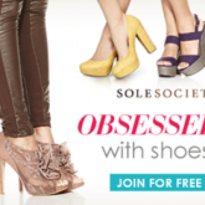 Shop Sole Society: Obsessed with Shoes?