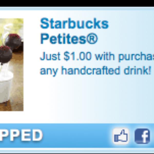 Starbucks Petite Coupon