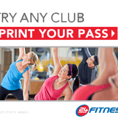 Free 7-Day 24 Hour Fitness Pass