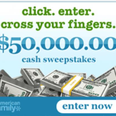 AmericanFamily.com $50,000 Sweepstakes
