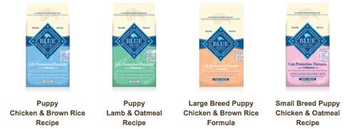 Blue Buffalo Puppy Food Free Samples