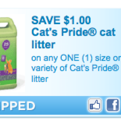 Cats Pride Cat Litter Coupon