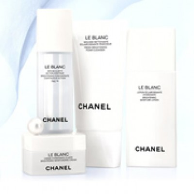 Free Chanel Le Blanc Sample Set