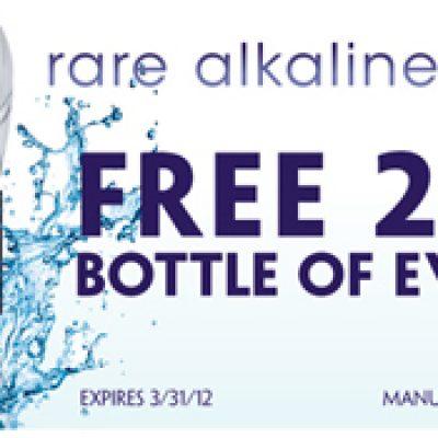 Free 20oz Bottle of Water