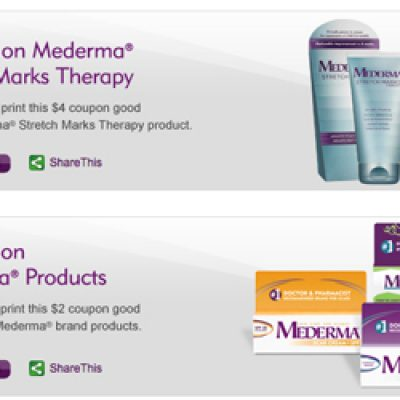 Save Big on Mederma Skin Care