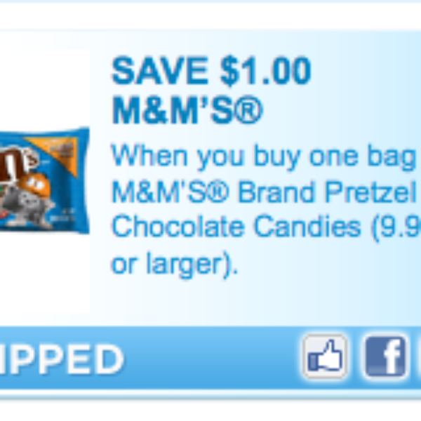 """High Value"" M&M's Coupon"