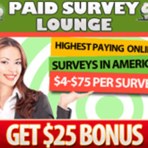 Paid Survey Lounge
