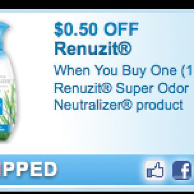 Renuzit Super Odor Neutralizer Coupon