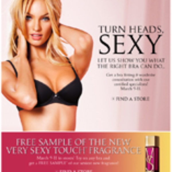 Free Very Sexy Touch Fragrance In-store @ Victoria's secret