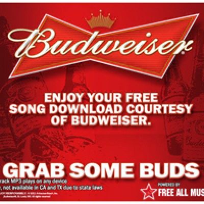 Free Hit Music Download From Budweiser