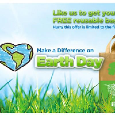 Free Reusable Earth Day Bag at Giant Eagle