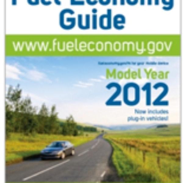 Free 2012 Fuel Economy Guide